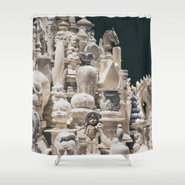 Tower of the Unusual Shower Curtain