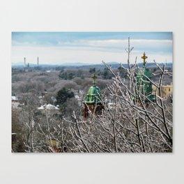 Frozen Portland, Maine (1) Canvas Print