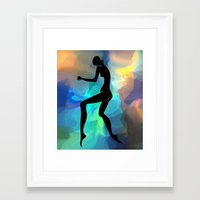 sound Framed Art Prints featuring sound by tatiana-teni