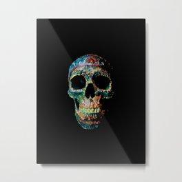 Sugar Skull Color Metal Print