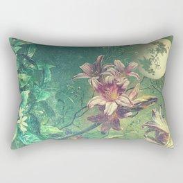 Daybreak under the fairy moon Rectangular Pillow