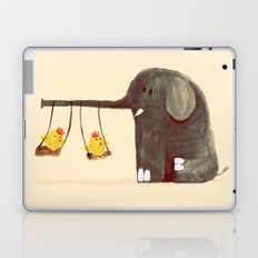 Elephant Swing Laptop & iPad Skin