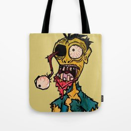 Scary Bloody Zombie Tote Bag