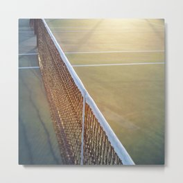 The Game #3 Metal Print