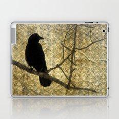Crow Of Damask Laptop & iPad Skin