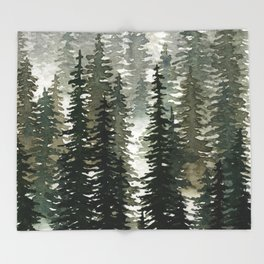 The Pathless Woods Throw Blanket