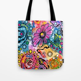 """Tie-Dye Wonderland"" Tote Bag"