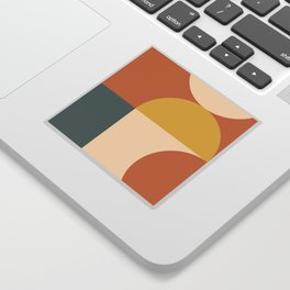 Abstract Geometric 04 Sticker