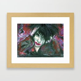 why can't I be you? Framed Art Print