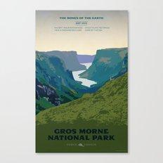 Gros Morne Canvas Print