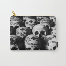 Skulls Carry-All Pouch