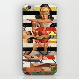 Glitch Pin-Up Redux: Lindsey iPhone Skin