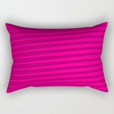Funky Lines (Fuchsia/DarkMagenta) Rectangular Pillow