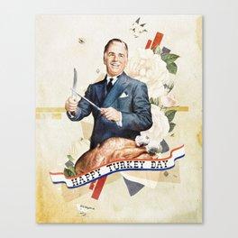 Happy Turkey Day Canvas Print