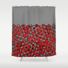 paradajz Shower Curtain