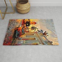 Painted Cuban Sunset Rug