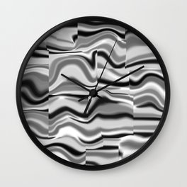 Abstract pattern 156 Wall Clock