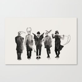 shinee [ the deathbringers ] Canvas Print