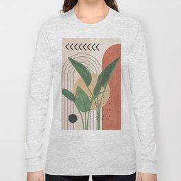 Nature Geometry V Long Sleeve T-shirt