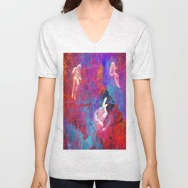 Lost in the Galaxy zx210 Unisex V-Neck