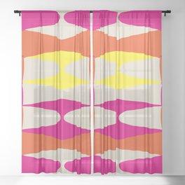 Zaha Chicago 68 Sheer Curtain