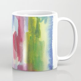 180812 Abstract Watercolour Expressionism 9 | Colorful Abstract | Modern Watercolor Art Coffee Mug