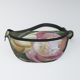 Cannonball Flower Fanny Pack