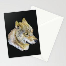 Mongolian Wolf Stationery Cards