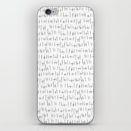 butts butts butts iPhone Skin