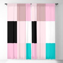 Minimalist Color Combination Blackout Curtain