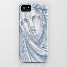 Veiled lady iPhone Case