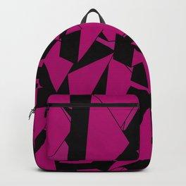 3D Broken Glass II Backpack