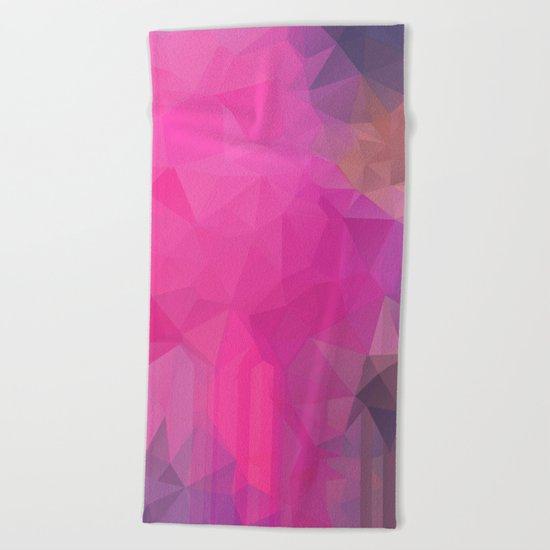 Geometric NC 01 Beach Towel