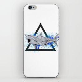 Paper Shark- Wild World of Paper Series iPhone Skin