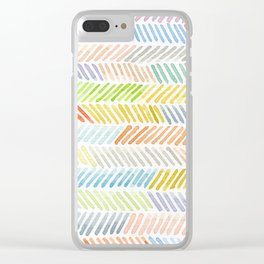 line Clear iPhone Case