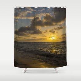 Golden Sunrise by Teresa Thompson Shower Curtain