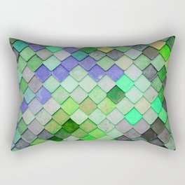 PRETTY - green palette Rectangular Pillow
