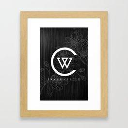 WINNER INNER CIRCLE Framed Art Print