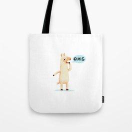 Dramallama Tote Bag
