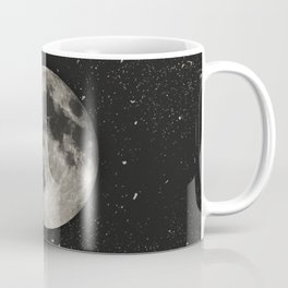 The Moon  [Sans Type] Coffee Mug