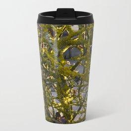 Moss in the Spring Metal Travel Mug