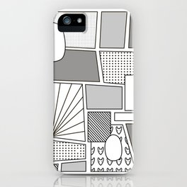 Comix iPhone Case