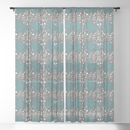 branchlets Sheer Curtain