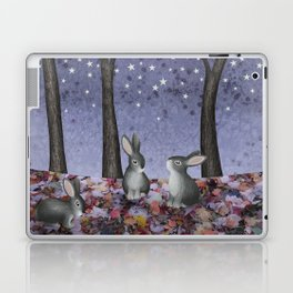 starlit bunnies Laptop & iPad Skin