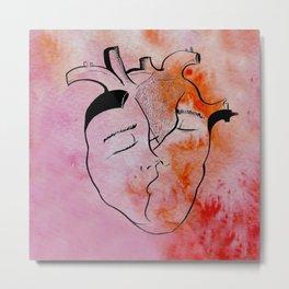 Love beat Metal Print