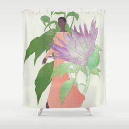 In The Garden Galaxy #2 Shower Curtain