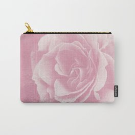 Light Pink Rose #2 #floral #art #society6 Carry-All Pouch