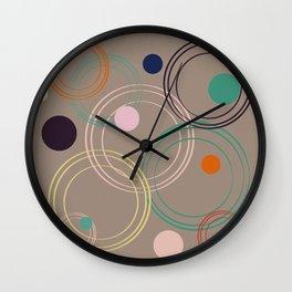 Pattern 2018 007 Wall Clock