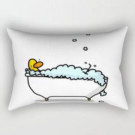 Tub Time Rectangular Pillow