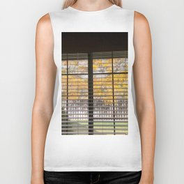 fall window Biker Tank